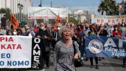 Huelga de docentes en Grecia contra ley de evaluación en colegios