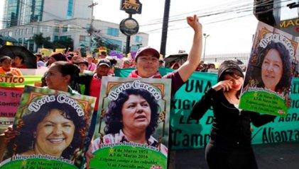 El enemigo siguen siendo las empresas contra las que luchó Berta Cáceres