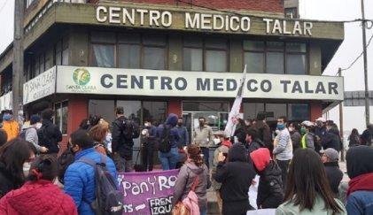 Centro Médico Talar despide a trabajadoras por denunciar malas condiciones sanitarias