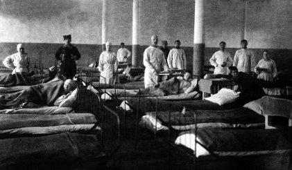 Cuando los bolcheviques derrotaron al tifus