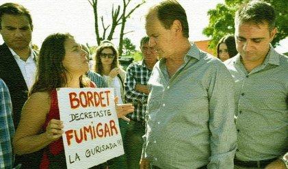 Entre Ríos y el gobernador RR que fumiga escuelas