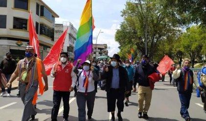 Movimientos indígenas de Ecuador inician marcha a Quito para exigir recuento de votos