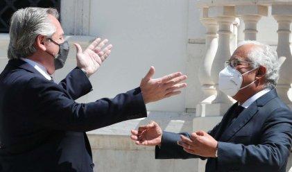 """Costa: """"Portugal apoya a Fernández, intentaremos sensibilizar al FMI"""""""