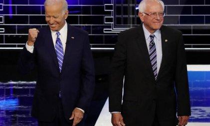Sanders llama a votar por Biden, el candidato del establishment demócrata
