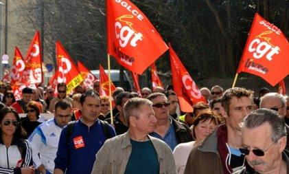 Huelga general en Francia: se esperan 180 movilizaciones y paro en más de 4.000 empresas