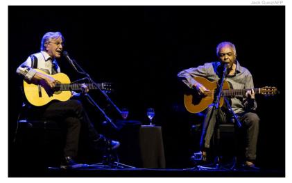 Caetano y Gil en Israel a pesar de los pedidos de boicot de Roger Waters