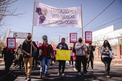 "Vitivinícolas: ""Tenemos que demostrarles a estas empresas que quieren que agachemos la cabeza que no van a poder con nosotros"""