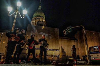 Jornada artística en apoyo al Frente de Izquierda-Unidad