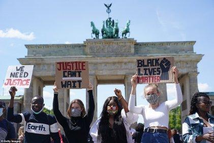 Manifestaciones en reclamo de justicia por George Floyd se extienden a varios países