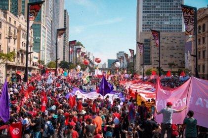 Movilizaciones en las principales ciudades de Brasil contra Bolsonaro