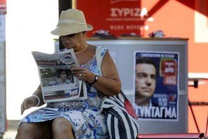 Syriza aventaja por solo medio punto a Nueva Democracia
