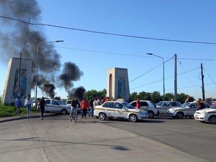 Taxistas fueron detenidos en Banda del Río Salí: protestaban contra el aumento del GNC