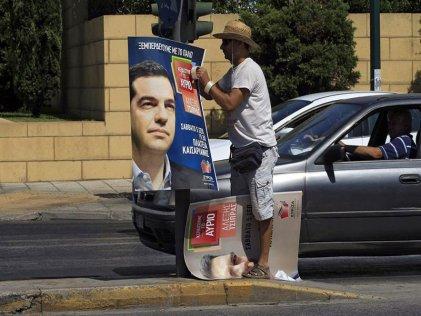 Syriza aventaja en cinco puntos a los conservadores griegos, según encuesta