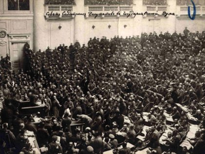 Trotsky presidente del Sóviet de Petrogrado (Parte II)