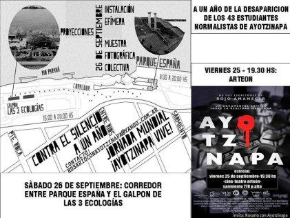 A un año de la desaparición de los 43 normalistas de Ayotzinapa