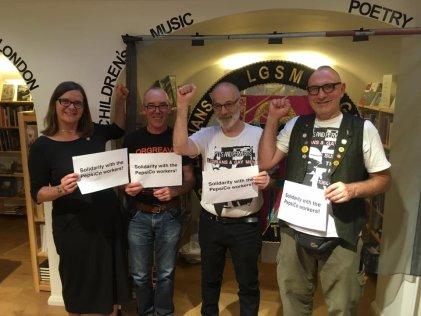 #Pride: lucharon contra Thatcher y hoy apoyaron a los trabajadores de PepsiCo