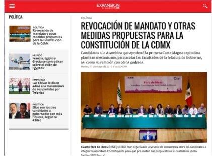 El pulso de la candidatura Anticapitalistas a la Constituyente en la prensa