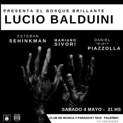 """Lucio Balduini presenta """"El bosque brillante"""""""