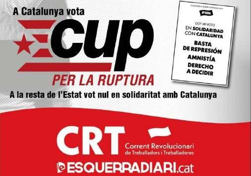 En Catalunya #VotaCUP