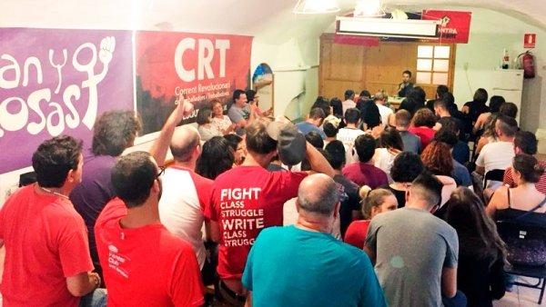 II escuela anticapitalista de la CRT: fortaleciendo las ideas para la revolución