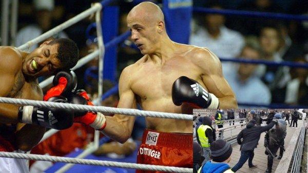 Combatir con los puños: ¿quién es el excampeón de boxeo que peleó junto a los chalecos amarillos franceses?