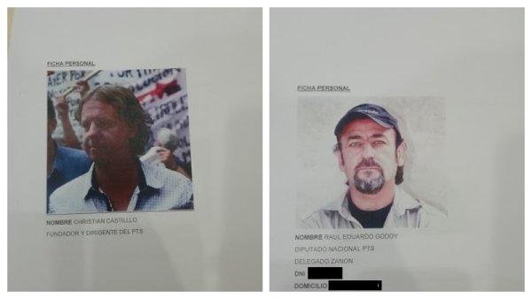 Del Caño, Bregman, dirigentes y periodistas repudian espionaje ilegal contra el PTS