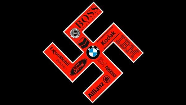 El apoyo de las grandes corporaciones a Hitler