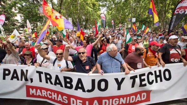 #27M Las Marchas de la Dignidad vuelven a tomar Madrid