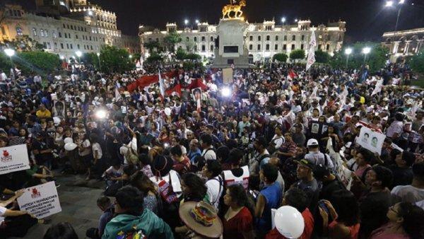 Perú: la lucha contra el indulto a Fujimori continúa
