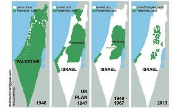 Desde hace 73 años, el Estado de Israel oprime al pueblo palestino