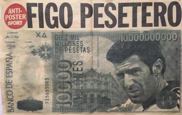 """Luis Figo: de """"pesetero"""" a gran empresario en guerra con el movimiento okupa"""