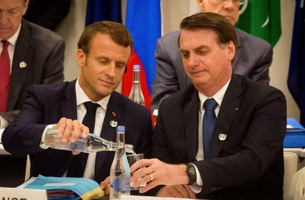 ¿Cuál es el interés de Macron, Merkel y el G7 ante los incendios en la Amazonia?