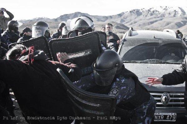 Chubut: denuncian desapariciones tras represión a comunidad mapuche