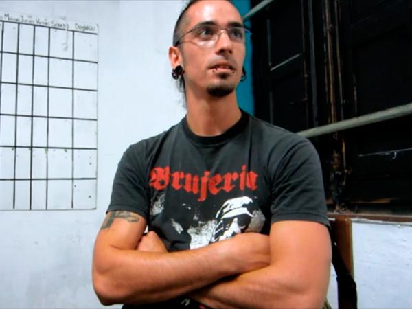 Entrevista a Rodrigo Lanza, condenado por el montaje policial del 4F