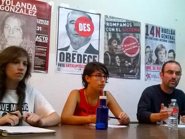 Anticapitalistas sigue expulsando militantes