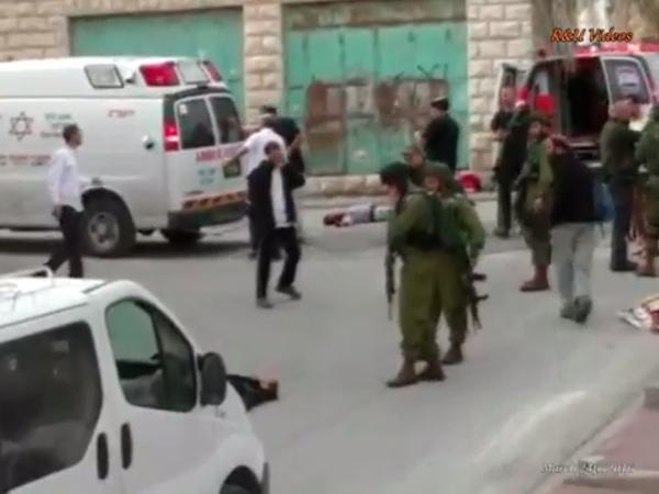 [VIDEO] Soldados israelíes ejecutan a un palestino herido con un tiro en la cabeza