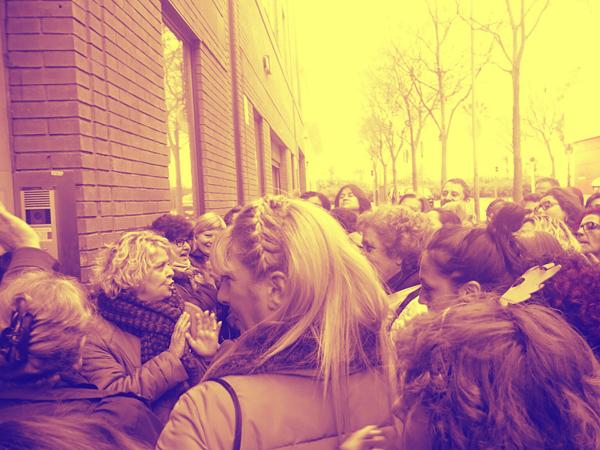 """Voces de trabajadoras: """"Somos un ejército de mujeres que cuidamos personas"""""""
